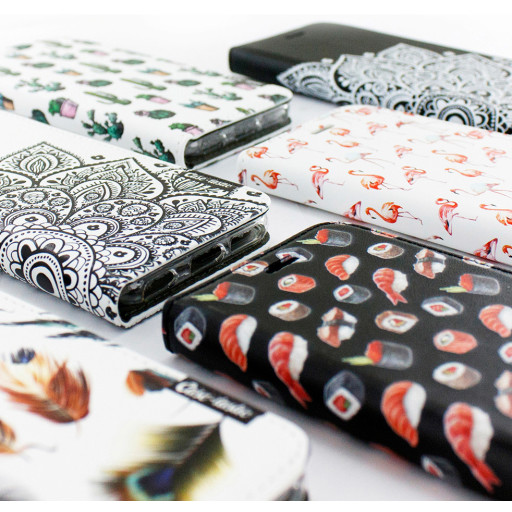 Casetastic Wallet Case White Apple iPhone 7 / 8 - All The Sushi