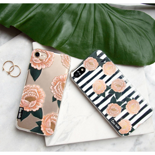 Casetastic Softcover Apple iPhone X / XS - Flower Skull