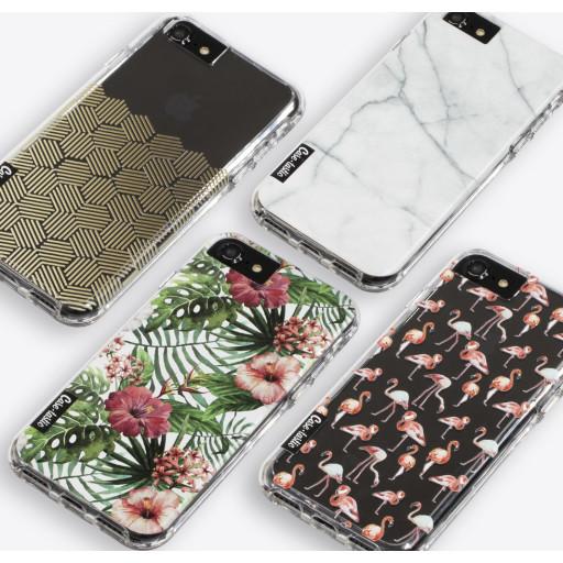 Casetastic Dual Snap Case Apple iPhone 5 / 5s / SE - Lovely Dots